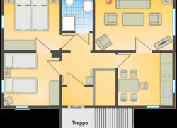FeWo Schart - Grundriss-Wohnung
