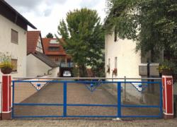 FeWo Schart - Hofeinfahrt